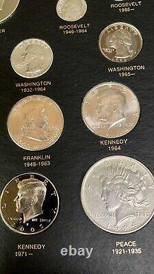 Priced 2 Sale U. S. 20th Century Type Coin Set, Ike 40% Silver Proof, Nice Morgan