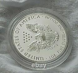 Super 2019 W Enhanced Reverse Proof Silver Eagle (Of Pride Of Two Nations Set)