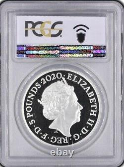 THREE GRACES 2020 Silver Proof £5 Royal Mint Coin (2oz.) Great Engravers Series