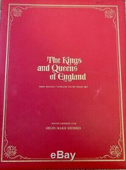 The Kings and Queens of England 1st Edition Sterling Silver Proof Set 44 coins