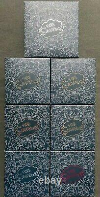 The Perth Mint Simpsons Silver Coin Proof Set, First Year Release, 7 Coins, BNIB