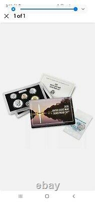 US Mint 2020 Silver Proof Set in Original Condition