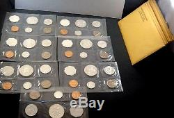 US Silver Proof Coin Lot (7) 1964 US Silver Proof set ALL CLEAN SETS No Spots