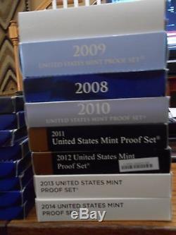 Ultimate US Mint Proof Bundle 1992-2015 Silver & 1999-2014 Clad 40 SETS TOTAL