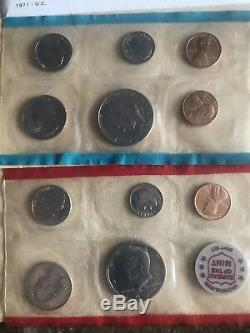 Us mint proof sets lot Starting With 1961. State Quarter Set. Silver Certificate