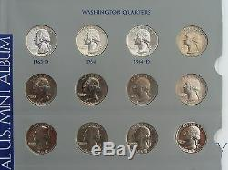 Washington Silver Quarter Dollar Set Complete 1932 1964 1965-1969 Proofs Unc